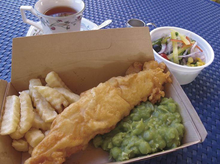 Fish & Chips 切抜き