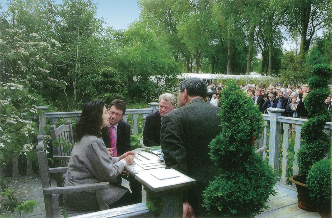 2002チェルシーの庭と先生2