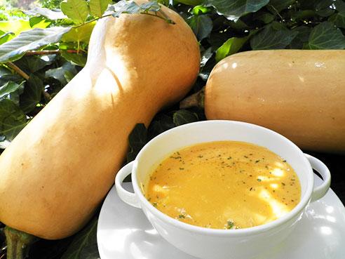バターナッツスコッシュのスープ