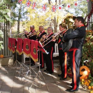 ガーデンコンサート ハーベストフェスティバル 秋の収穫祭