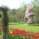 25周年のイングリッシュ ガーデンの景観を