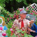 本場英国より来日中! イアン・リマ―講師のガーデンツアー&バラのレクチャー