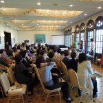 10月28日 三田ホテル「あしたも、会いたくなるガーデン」ケイ山田トークショー 大盛況で終了しました。
