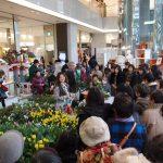 蓼科高原バラクライングリッシュガーデンが、名古屋松坂屋にやってきた!