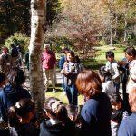 お花いっぱいコンテスト(見附市)入賞校 バラクラバスツアー来園