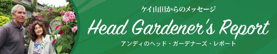 Head Gardener's Report