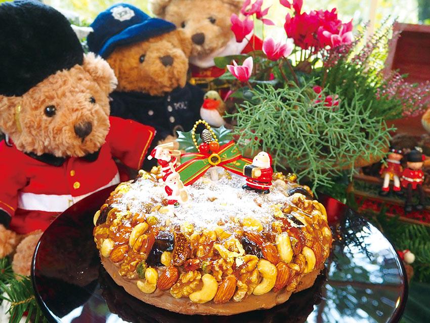 英国伝統のヴィクトリアン クリスマスケーキ