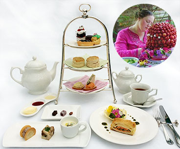 Afternoon Tea of Ms Hannah Miles