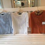 初夏の新作ブラウス、Tシャツのご案内