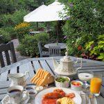 英国庭園で朝食を! イングリッシュブレックファースト【前日16時までの予約限定】