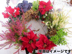 生花を使ったリース
