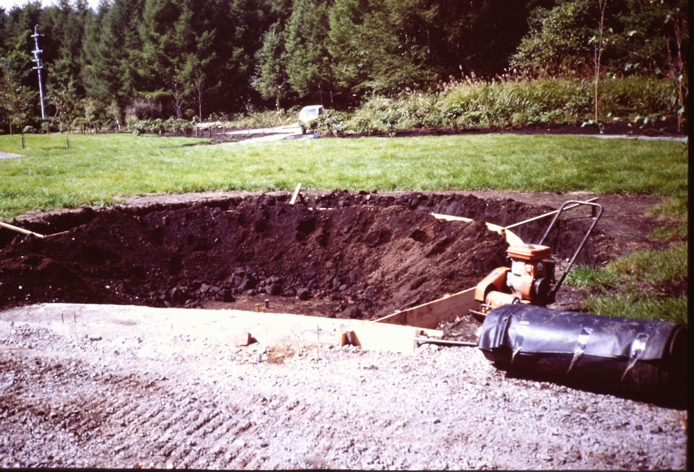 あゆみ 穴掘り