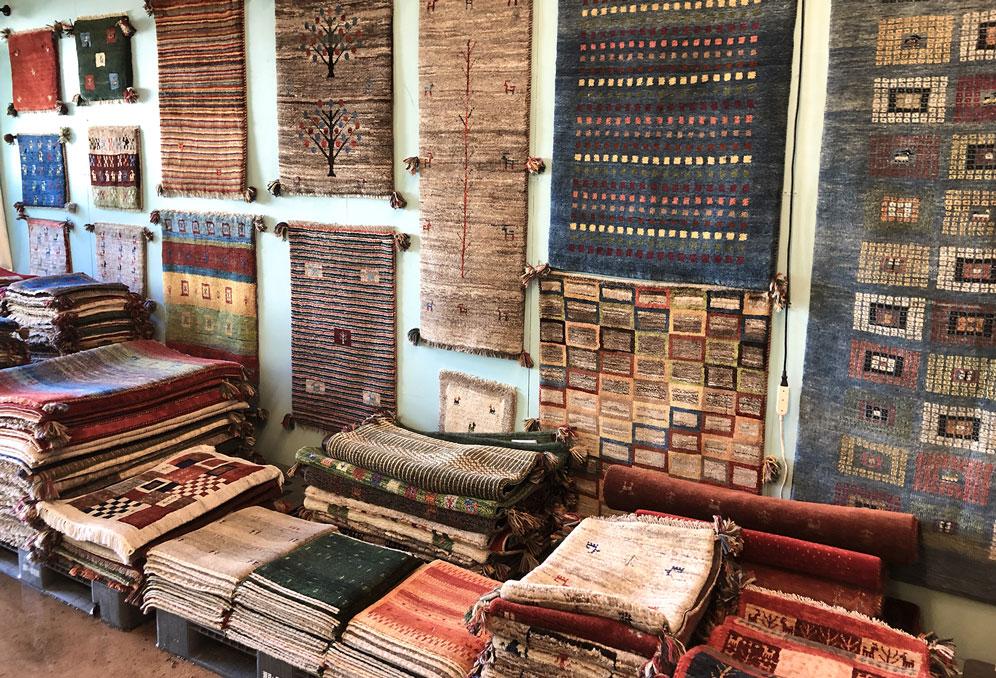 9月のイベント ペルシャ絨毯
