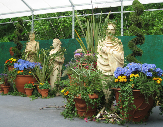 kay's container gardens for shakespeare.jpg