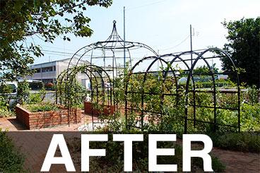 茨城県 W様邸ガーデン施工例アフター